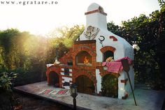 Cuptorul lui Vlad – eGratare Barbecue Area, Bbq, Summer Kitchen, Terrace, Backyard, Garden, Outdoor Decor, House, Painting