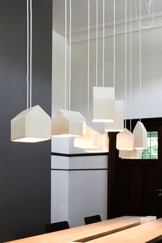 House lamp collection, designed by Studio Segers Interior Lighting, Home Lighting, Modern Lighting, Lighting Design, Pendant Lighting, Lighting Ideas, Lighting Stores, Pendant Lamps, Ceiling Lighting
