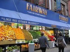 Fairway market. The best markets in NY.