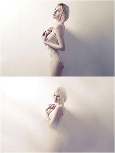 Great idea for creative portraiture foto effects!