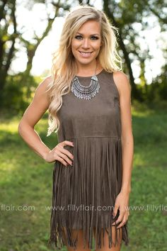 Get your fringe dress for fall!