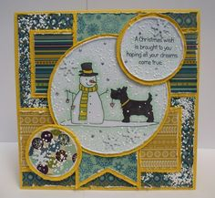 Designed by Diane Christmas 2015, Christmas Wishes, Christmas Cards, Paper Cards, Scottie, Claire, Vintage World Maps, Dreaming Of You, Stamp