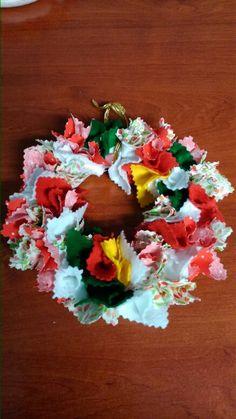 Coroa de natal artesanal!