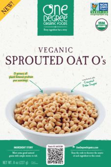 One Degree Organics Sprouted Oat Os Cereal