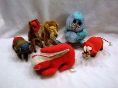 Lot of vintage plush toys stuffed animals Dakin Dream pets kamar