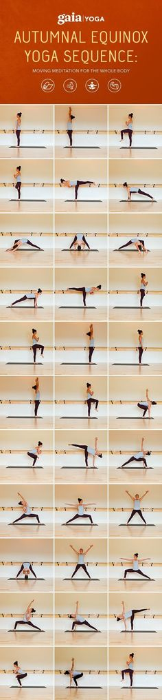 Autumnal Equinox Yoga Sequence: Moving Meditation for the Whole Body. Full written sequence + accompanying video. #kundaliniyogasequence