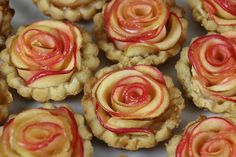Rose Apple Mini Tarts