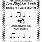 """The Rhythm Train Game!! """"I have/Who has?"""" for Ta & Ti-Ti only. 16 cards (boarding passes) that loop back around, so you can pass them back out as they play if you have a larger group."""