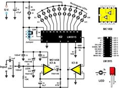 Electronic circuits, projects and tutorials. PCB details, microcontroller projects, power supply, high frequency and audio circuits. Electronics Basics, Hobby Electronics, Electronics Storage, Electronics Projects, Electronics Components, Electronic Circuit Projects, Electronic Engineering, Led Projects, Circuit Diagram