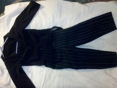 Jack skelington costume made for my son last holloween!