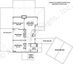 Camp Cullowee House Plan  -