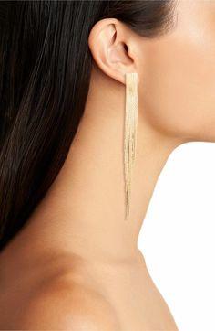 BP. Metal Fringe Earrings | Nordstrom