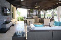 Backyard, Patio, Stone Veneer, House Extensions, Outdoor Furniture Sets, Outdoor Decor, Outdoor Kitchens, Granite Countertops, Outdoor Living