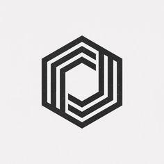 A new geometric design every day Geometric Drawing, Geometric Logo, Geometric Designs, Geometric Shapes, Logo Design Inspiration, Icon Design, Logo Typo, Logo Luxury, Muster Tattoos