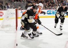 Sidney Crosby Pittsburgh Penguins vs. Philadelphia Flyers February 20 2013