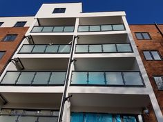 Railings and balustrades for both residential and commercial projects, including fire exit staircases. Nice Picture, Railings, Apartments, Cool Pictures, Chelsea, Fire, Outdoor, Outdoors, Floating Stairs
