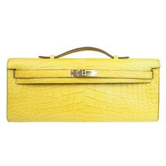 birkin inspired bag - Hermes Kelly Pochette in Lizard....two CDCs (Anemone and Bambou ...