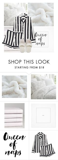 """""""Sleeping In! :)"""" by divine-designer ❤ liked on Polyvore featuring DaDa, Belle Epoque, Williams-Sonoma, WALL, Iris & Ink and Natori"""