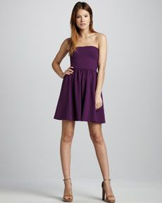 Susana Monaco Natalie Strapless Dress from Cusp.  #NYE