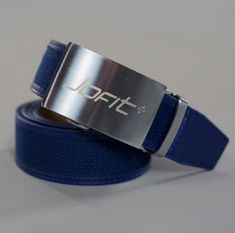Check out our Blue Depth JoFit Ladies Signature Canvas Belt! Find the best golf gear and accessories at Lori's Golf Shoppe. Click through now to see this!