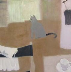 masako whitehouse - Google zoeken Blackadder, Still Life, Paintings, Artists, Female, Cats, Board, Illustration, Google