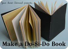 love the simple way of making this wee book