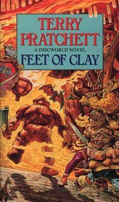 Feet of Clay - Terry Pratchett. One of my favourite discworld books.