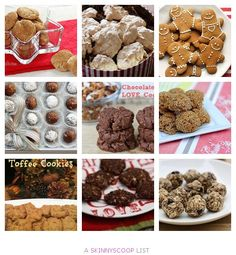 Healthy Christmas Cookie Recipes! I'm making the low fat gingerbread cookies, only 60 calories!