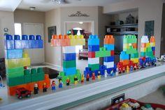 name in legos. Birthday Lego Party