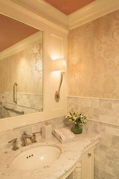Note Trim Where Stairs Meets Door Martha O'hara Interiors Enchanting Austin Tx Bathroom Remodeling Design Ideas