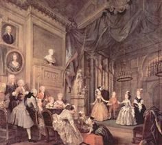 The Children's Theater In The House Of John Conduit - William Hogarth