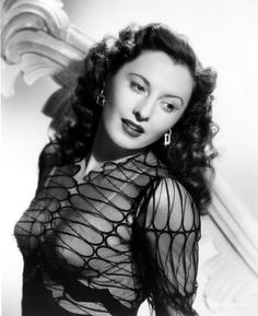 Barbara Stanwyck in Lady of Burlesque 1943