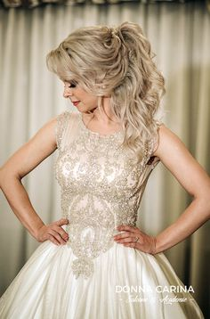 Coafuri si make-up mirese Girls Dresses, Flower Girl Dresses, Up, Hairstyle, Bride, Wedding Dresses, Flowers, Fashion, Dresses Of Girls