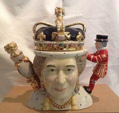 20th Century Queens Teapot Queen Elizabeth 11 - Queen Victoria -Totally Teapots in Collectables, Decorative Ornaments/ Plates, Collector Teapots | eBay