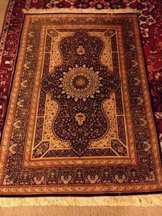 Handmade Silk Persian Qum from Toossi Oriental Rugs www.rugs2c.com