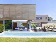 Modern Summer House - Contemporary - Exterior - New York - Austin Patterson Disston Architects Die Hamptons, Hamptons New York, Outdoor Spaces, Indoor Outdoor, Outdoor Living, Interior Architecture, Interior Design, Online Architecture, Modern Exterior