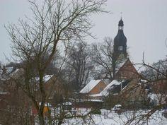 Winter in Mecklenburg, Germany