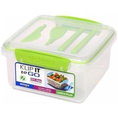 Sistema Us Inc 21652 Klip It Lunch Plus To Go Container