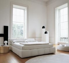 love the high ceilings and light space