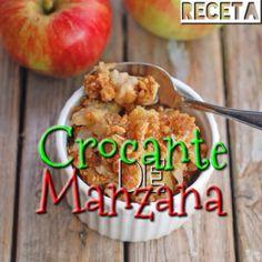 .@Claudia Park León | Apple Crisp Fit Necesitas: Para la corteza/crisp: 1 taza de avena en hojuela... | Webstagram