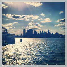 Amazing view of Philadelphia! #philly #HOFlovephilly #HOFKingofPrussia
