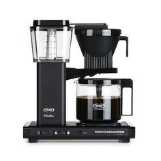 Moccamaster Kaffebryggare KBGC982AO, Matt Black, Moccamaster