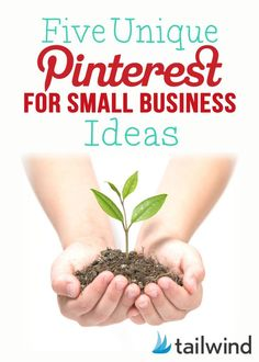 5 Unique Pinterest Ideas for Small Businesses  Read: http://blog.tailwindapp.com/pinterest-for-small-business/ WAHM Ideas #WAHM #workathom