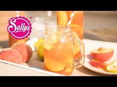 Selbstgemachter DIY Eistee Pfirsich & Zitrone / Ohne Zuckerzusatz / schnell & erfrischend - YouTube