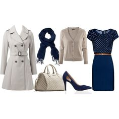 One Dress Four Seasons Job Interview (Autumn) Business Outfits, Business Attire, Office Outfits, Fall Outfits, Cute Outfits, Fashion Outfits, Fashion Trends, Fashion Ideas, Office Wardrobe