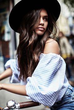 Sara Sampaio shares her beauty secrets.