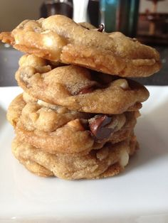 Oh, what's that you ask? Only the best cookie recipe in my arsenal. The Best Vegan Triple Chip Cookies.  #vegan