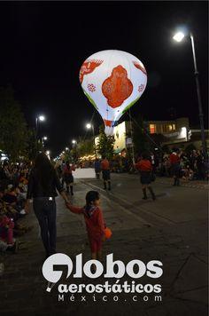 globo de helio para desfile forma de globo de cantoya