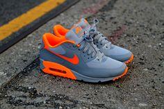 Nike Air Max 90 Hyperfuse - Stealth   Orange  ab176c988f96