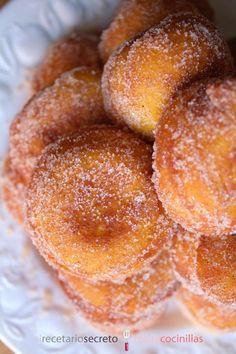 Buñuelos de calabaza y naranja | Comparterecetas.com